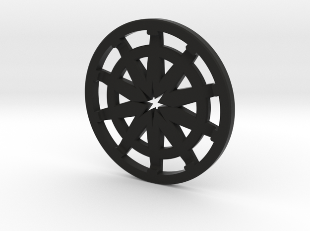 Pommel Insert (Speaker Section) in Black Strong & Flexible