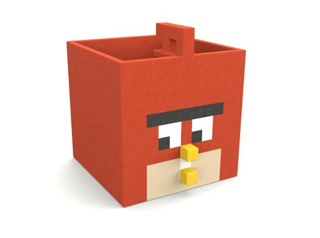 Angry Box in Full Color Sandstone