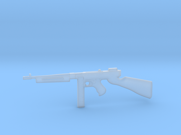 Thompson M1928 30rds (1:18 Scale) in Frosted Ultra Detail: 1:18