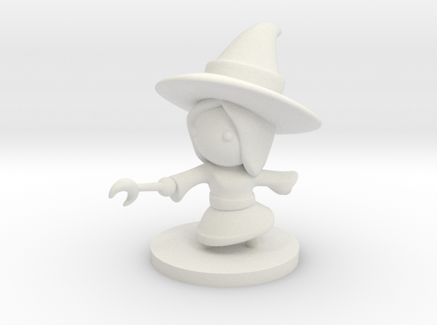 Witch in White Natural Versatile Plastic