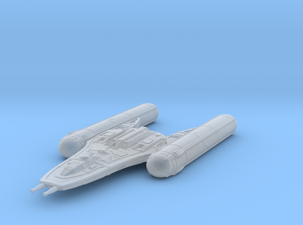Y-Wing___CW in Smooth Fine Detail Plastic