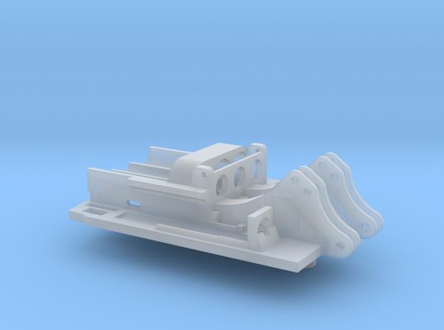 Bodenplatte für RC-Umbau für Herta R954 Kettenbagg