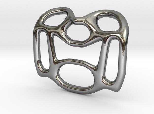Pendant Design A in Premium Silver