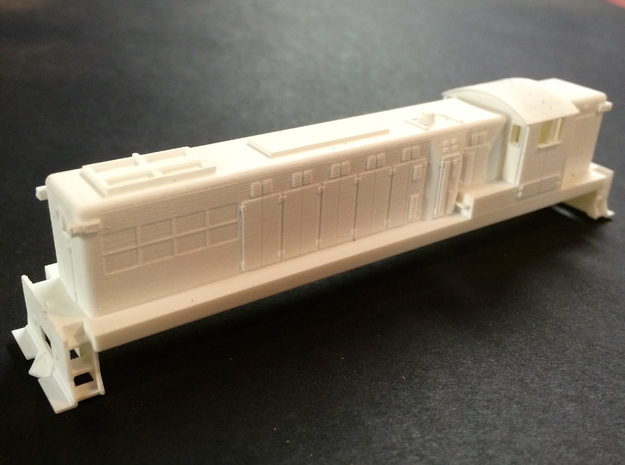 N Scale Baldwin  AS16 3d printed
