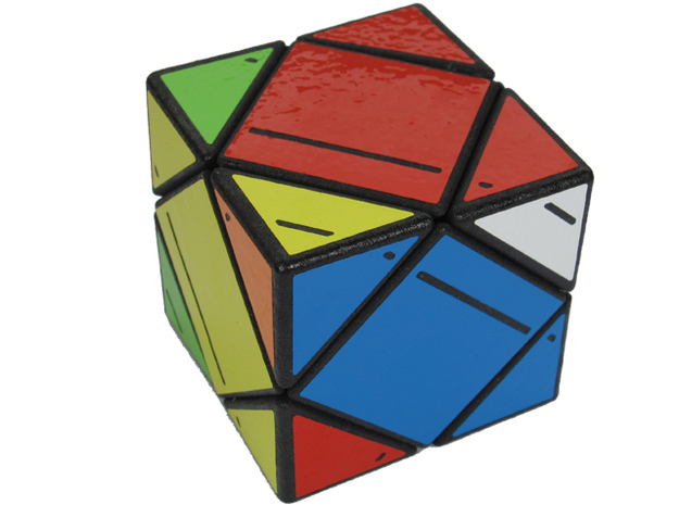 Treasure Skewb 3d printed