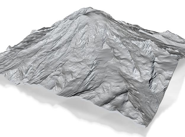 Large Hollow Rainier 3d printed