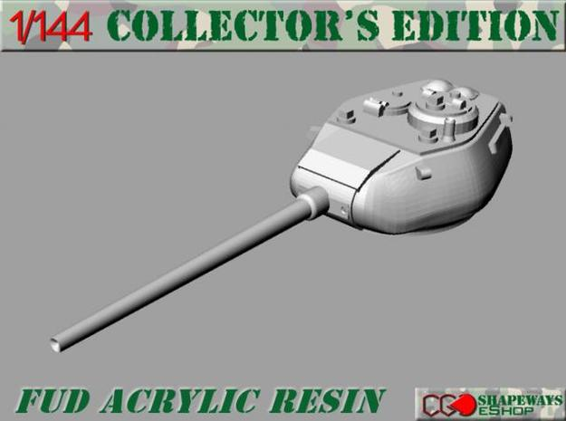 1:144 T34 85 Turret for Conversion X2 in Smooth Fine Detail Plastic