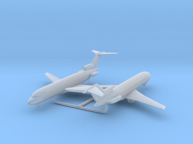 1/700 727-200 w/Gear x2 (FUD) in Smooth Fine Detail Plastic