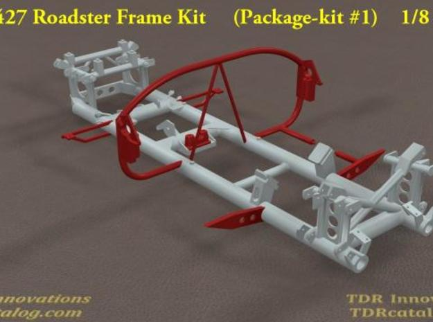 TDR 427 Roadster Frame Kit 3d printed Pic #1