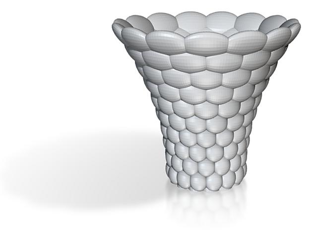 Ellipsoid Decorated Vase 3d printed
