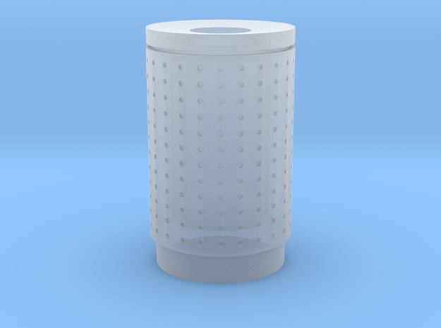 DSB 80L Affaldsbeholder (Litter bin) 1:120 in Smooth Fine Detail Plastic