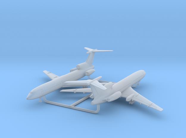 1/700 Tu-154M w/Gear x2 (FUD) in Smooth Fine Detail Plastic