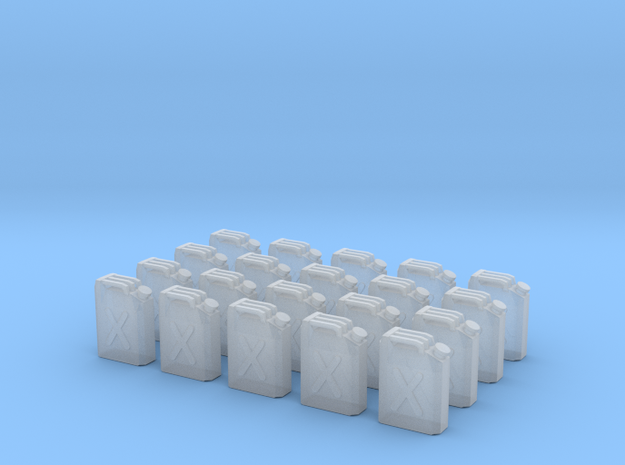 x20 Jerrycan in Smoothest Fine Detail Plastic