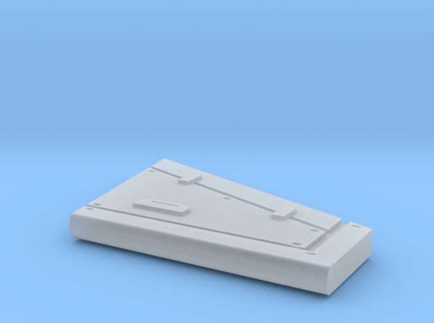 Shapeways Typhoon Rear Tail Stabs in Smooth Fine Detail Plastic
