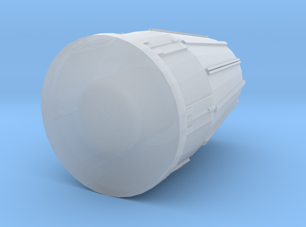 28mm Typhoon Engine Exhaust in Smooth Fine Detail Plastic
