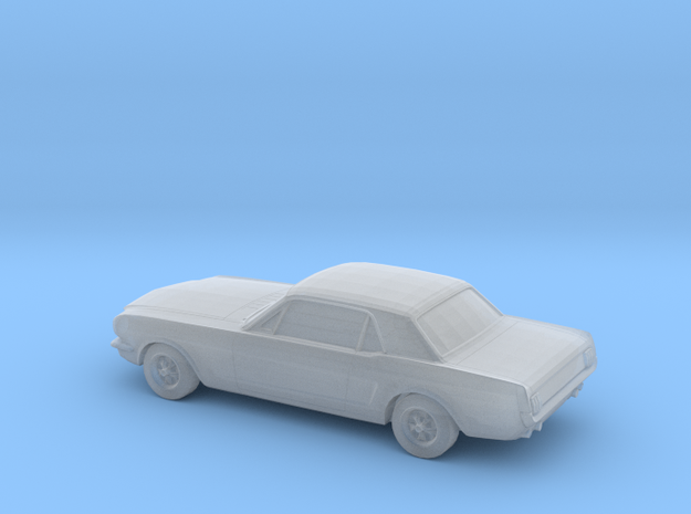 1/220 1964 Ford Mustang GT in Smooth Fine Detail Plastic