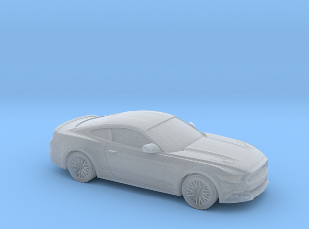 1/220 2015 Ford Mustang GT in Smooth Fine Detail Plastic