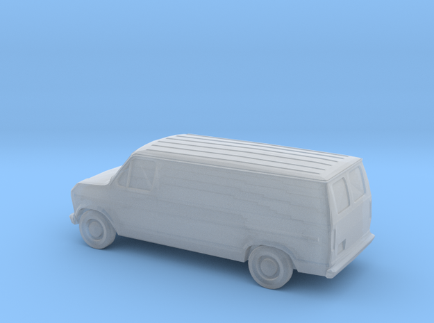 1/220 1985 Ford Econoline in Smooth Fine Detail Plastic