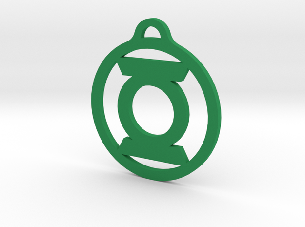 Green Lantern in Green Strong & Flexible Polished