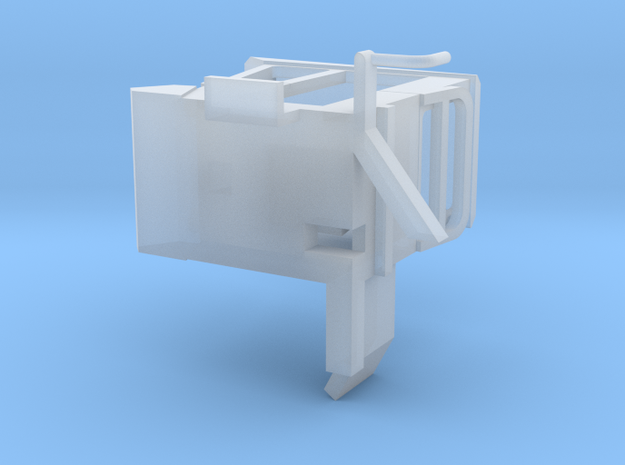 Cab 1069 SP Bale wagon PART 1 in Smooth Fine Detail Plastic