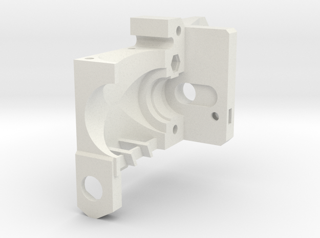 Prusa MK2 mount in White Natural Versatile Plastic