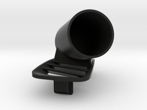 SINGLE POD VENT MS6 in Black Natural Versatile Plastic