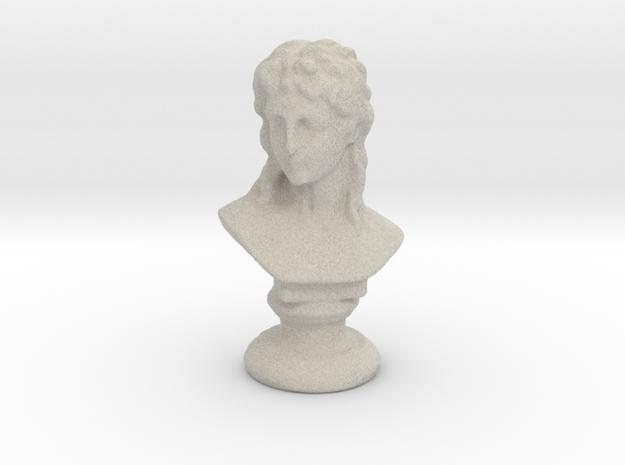 Eros, the God of Love in Natural Sandstone