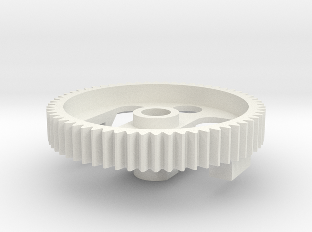 Marui Differential Gear 60T in White Strong & Flexible