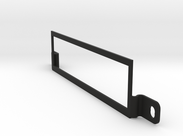 Wiliams Display Bracket for System 3-7 pinball in Black Natural Versatile Plastic