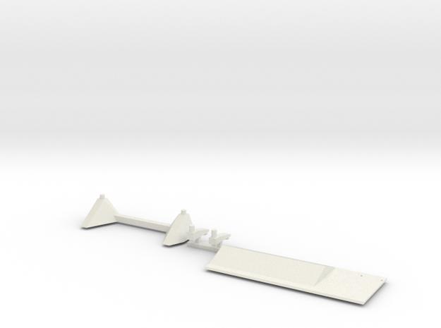 02-Descent stage Attachment-HGA in White Natural Versatile Plastic