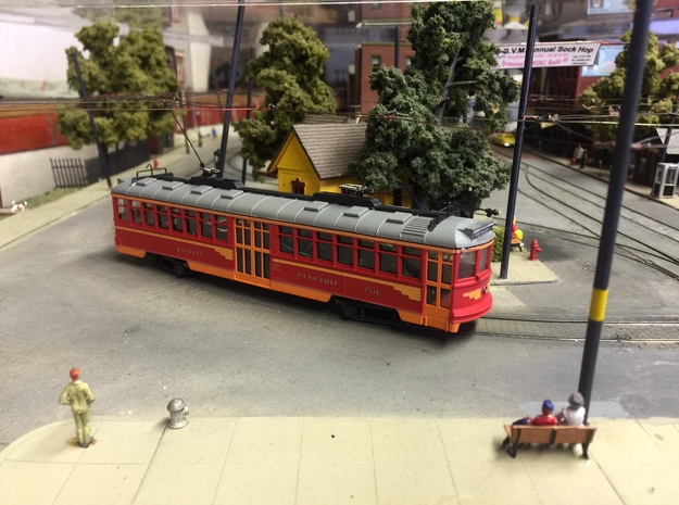HO Pacific Electric Modernized Hollywood Car Kit