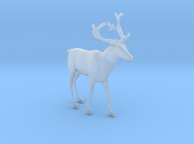 Reindeer Walking Large in Smooth Fine Detail Plastic: 1:64 - S