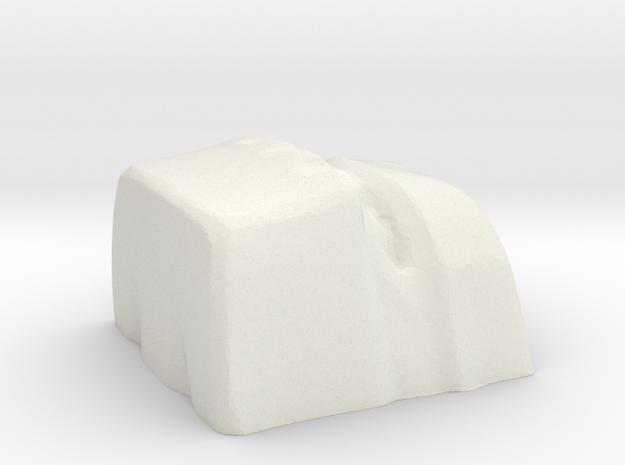 golem 1 cherryMX keycap in White Strong & Flexible