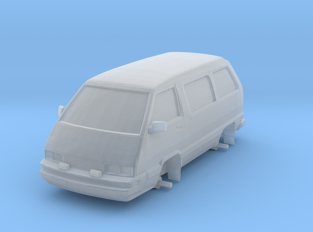 """1/87 Scale 4x4 Mini Van """"TOY"""" in Frosted Ultra Detail"""
