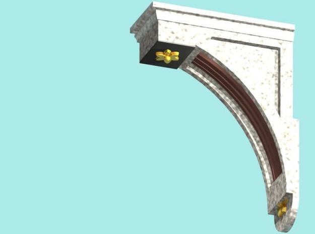 Balcombe Viaduct Corbels 3d printed Description