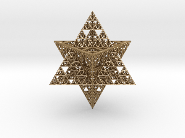 Sierpinski Merkaba 12 cm (downloadable)
