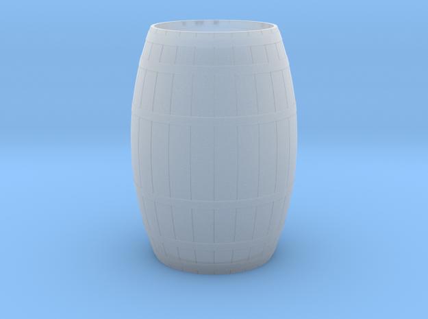 18th Century Barrel-Open (21hx15dia) 1/24 in Smooth Fine Detail Plastic