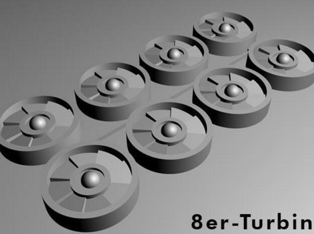 Turbine-8er 3d printed Description