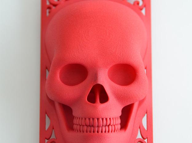 Skull iPhone 5 Case 3d printed