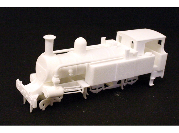 Metropolitan Railway A Class in White Natural Versatile Plastic