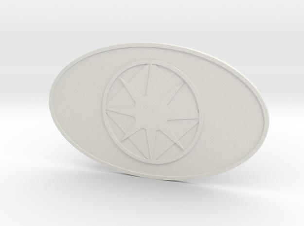 The Voss in White Premium Versatile Plastic