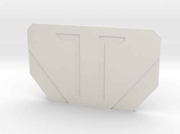 The Bane in White Premium Versatile Plastic