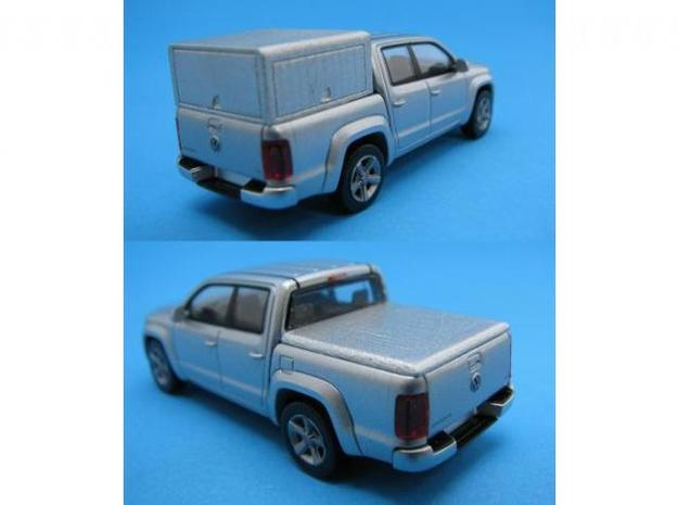 HO/1:87 Pickup cap + cover set for VW Amarok in Frosted Ultra Detail