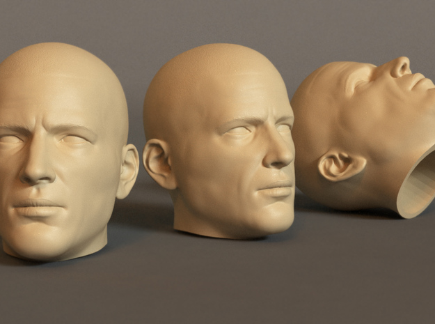 Generic Male Head 1/6 scale figure