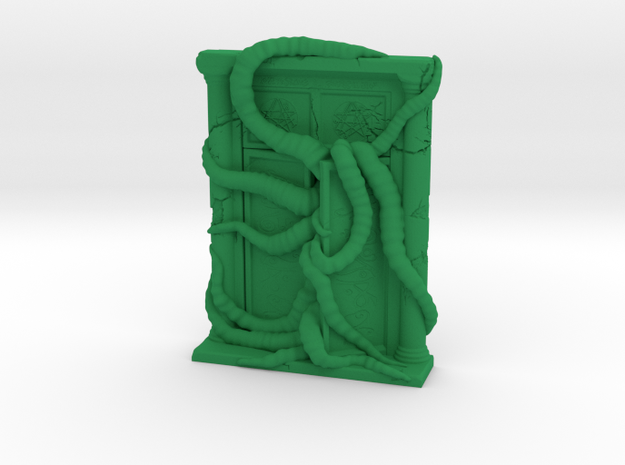 Cthulhu Gate in Green Processed Versatile Plastic