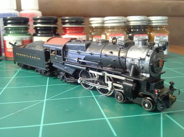 N scale Pennsylvania E6 Atlantic Conversion Kit in Frosted Ultra Detail