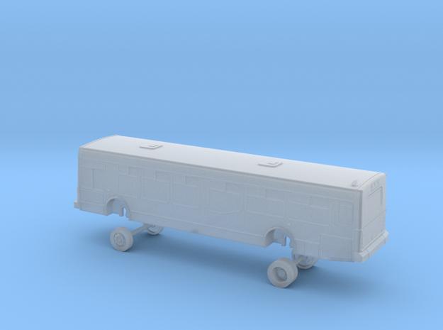 N Scale Bus NABI 40-LFW AC Transit 4001-4021 in Smooth Fine Detail Plastic