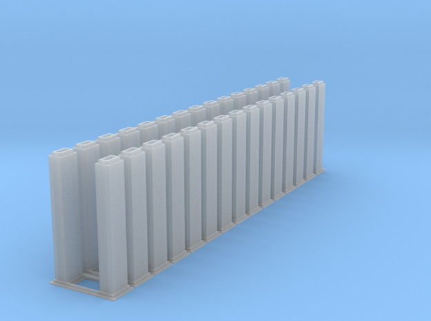 1/64 10k trunking 15pcs in Smooth Fine Detail Plastic
