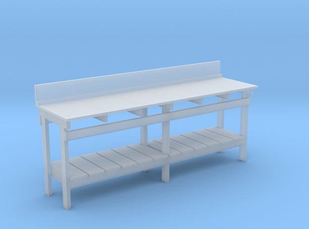 S Scale workbench (no drawers) in Smoothest Fine Detail Plastic
