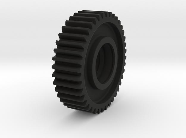 DRIVEN_GEAR in Black Natural Versatile Plastic